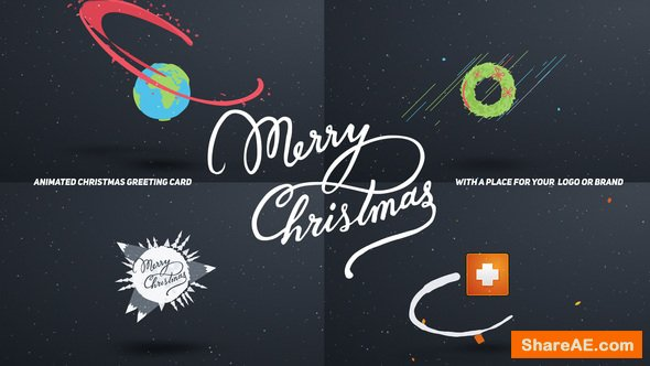 Videohive Christmas Card Cartoon