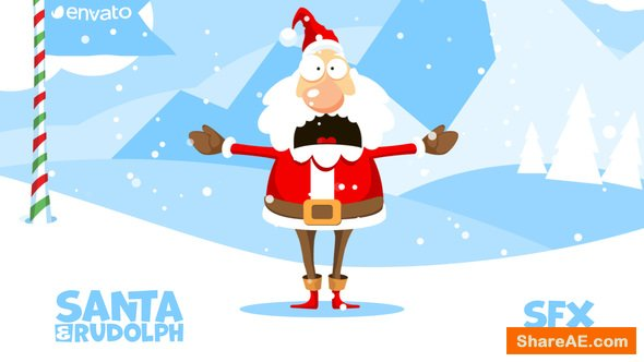 Videohive Christmas Logo Opener 1 - snowball
