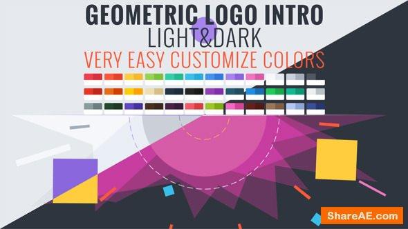 Videohive Geometric Logo Intro