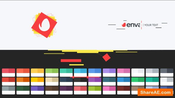 Videohive Shape Geometric Logo Intro