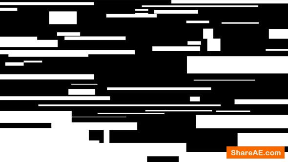Videohive Flat Glitchy Logo
