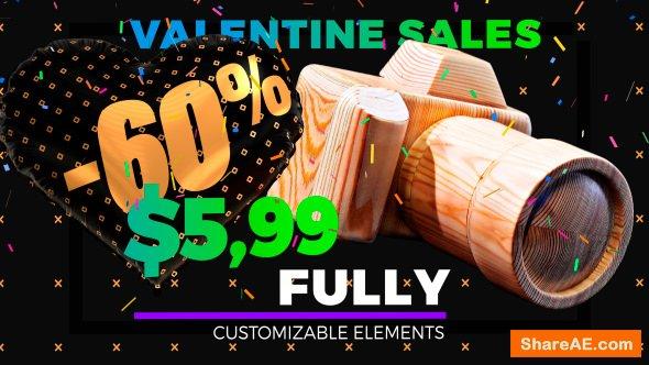Videohive Grand Sale - Hearts Style