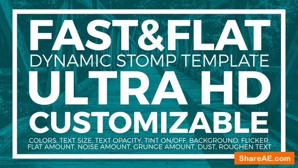 Videohive Flat & Fast Stomp