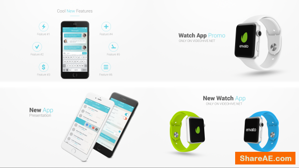 Videohive Iphone 6 and Apple Watch Presentation Kit