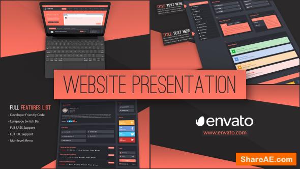 Videohive Web Site Presentation
