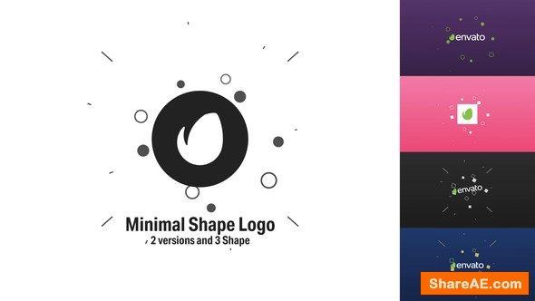 Videohive Minimal Shape Logo