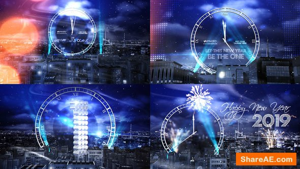 Videohive New Year Eve Party Countdown 2015 - After Effects Project
