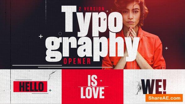 Videohive Typography 22786900