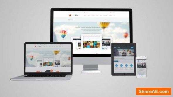 Videohive Responsive Website - Device Business Presentation