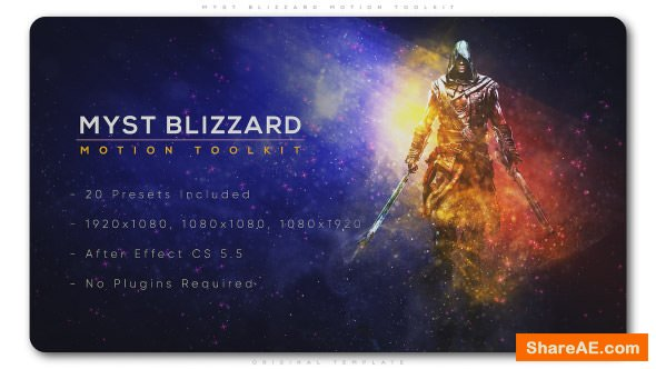 Videohive Myst Blizzard Motion ToolKit - After Effects Presets
