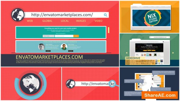 Videohive Website or Webpage Stylish Promotion