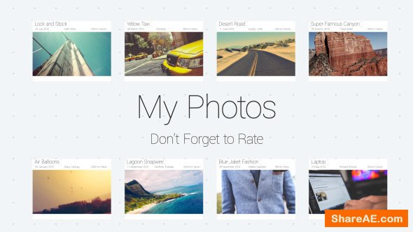 Videohive My Photos Slideshow