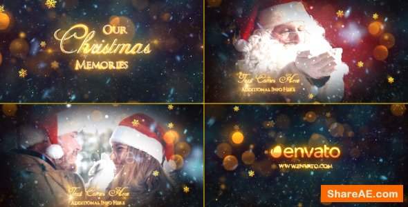 Videohive Christmas Memories - Slideshow