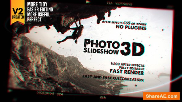 Videohive Photo Slideshow 3D