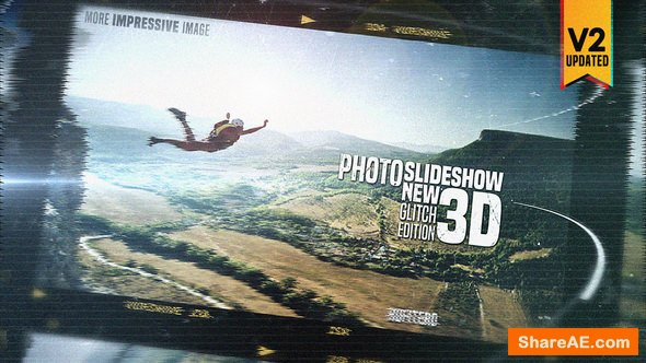 Videohive Photo Slide Show 3D New Glitch Edition