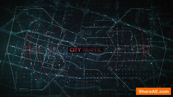 Videohive City Traffic Trailer