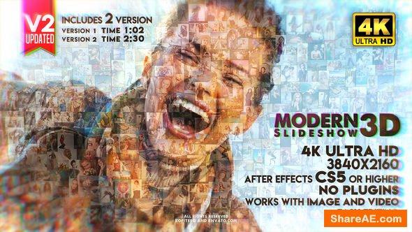 Videohive Modern Slideshow 3D