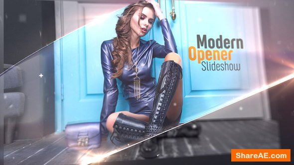 Videohive Modern Opener - Slideshow