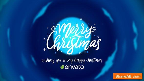 Videohive Christmas Cartoon Card