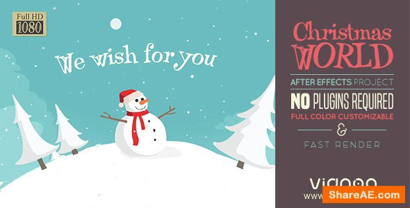 Videohive Christmas Land