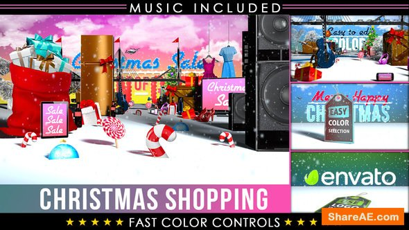Videohive Christmas Sale Shopping