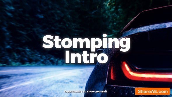 Videohive Stomping Intro