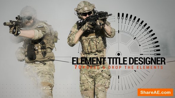 Videohive Element Title Designer