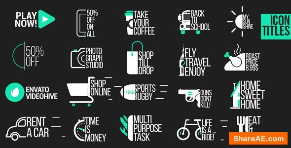 Videohive Icon Titles