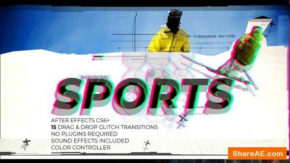 Videohive Glitch Sports