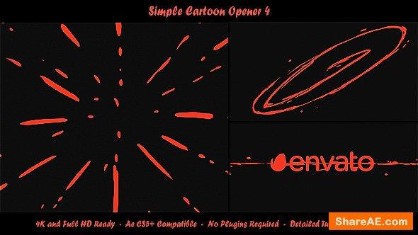Videohive Simple Cartoon Opener 4