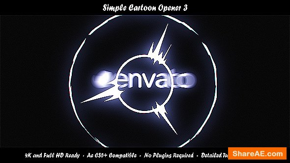 Videohive Simple Cartoon Opener 3
