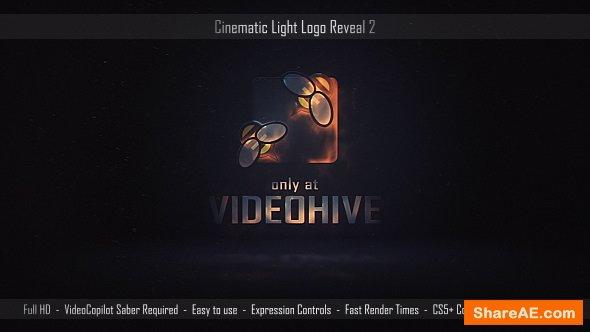 Videohive Cinematic Light Logo Reveal 2