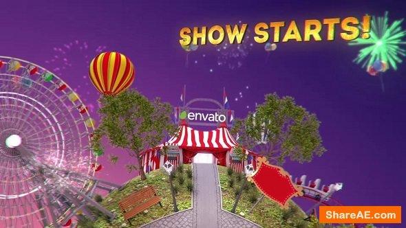 Videohive Circus Intro