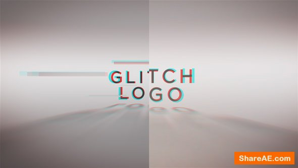 Videohive Glitch Words Logo Reveal | 2 versions