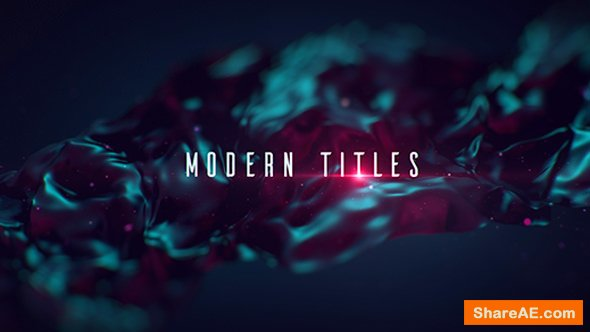 Videohive Modern Titles 16074874