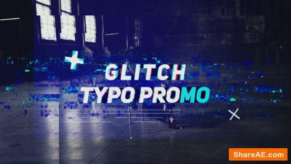 Videohive Glitch Typo Promo