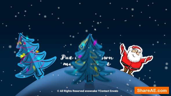 Videohive Christmas Paper World