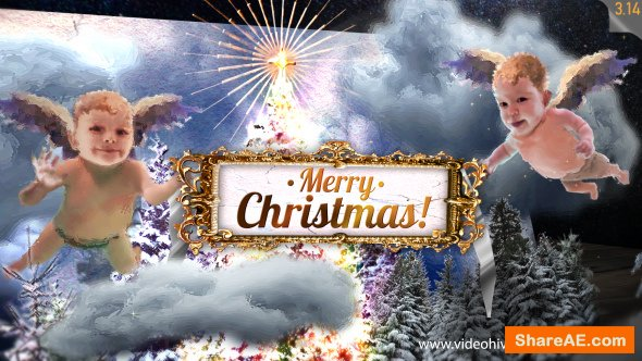 Videohive Christmas Card 13692433