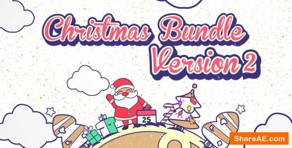 Christmas Vector Bundle v2 - Videohive