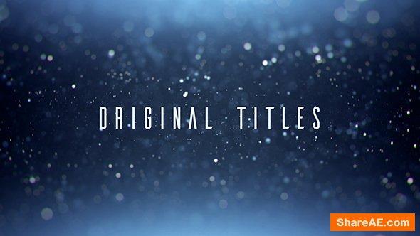 Videohive Original Titles