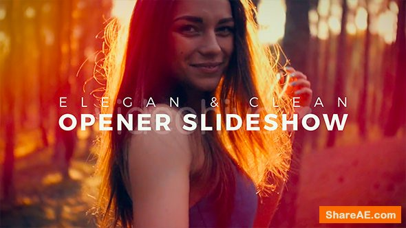 Videohive Elegant and Clean Opener Slideshow