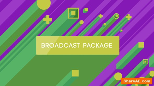 Videohive Isometric Broadcast Package
