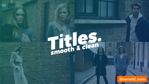 Videohive Smooth Clean Titles