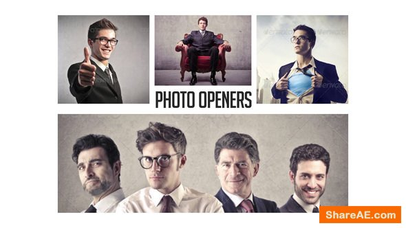 Videohive Corporate Photo Openers - Logo Reveal