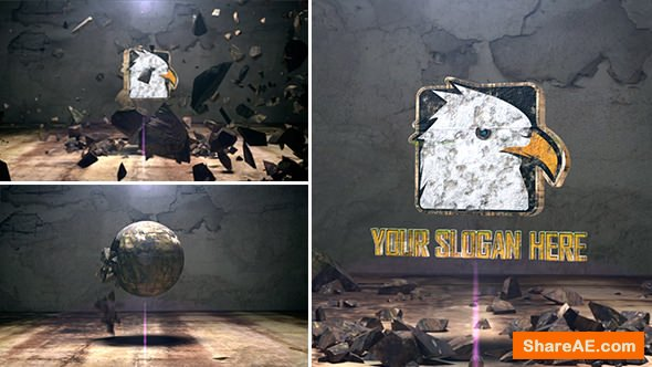 Videohive The Spherical Rock Logo
