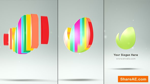 Videohive Colorful Logo Reveal 21267087