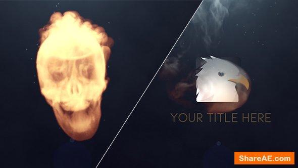 Videohive Skull Logo Reveal