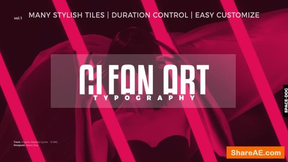 Videohive Clean Art Titles