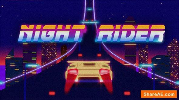 Videohive Retro Rider