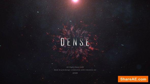 Videohive Dense | Trailer Titles